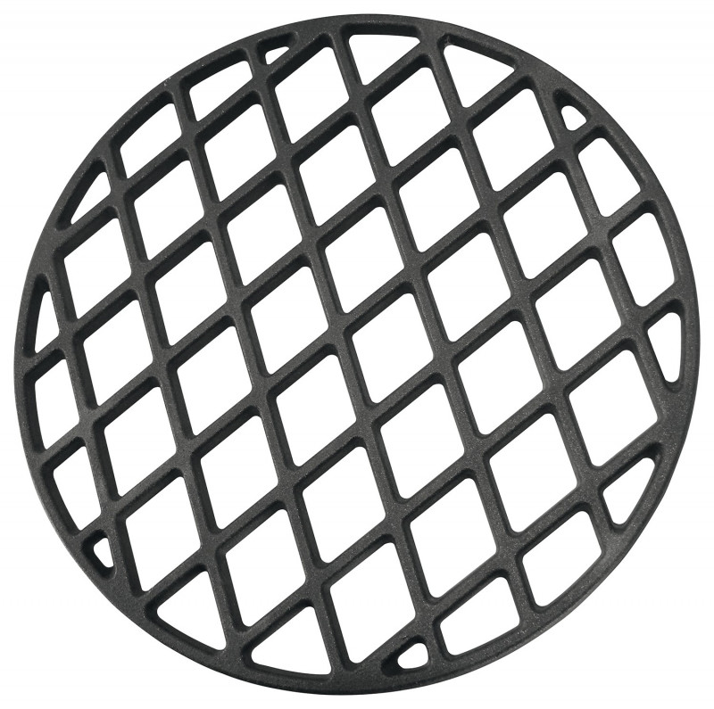 Grill Muster aus Guss, Ø ca. 31 cm für JUSTUS Black J'Egg S/XL