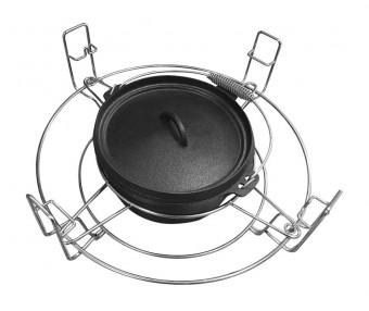 Set Schmortopf und Halterung für JUSTUS Black JEgg XL