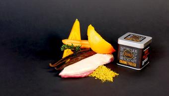 Gourmetpulver - Orange, 60g Würfeldose
