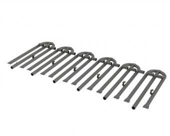 Stahl-Brennerrohr Austauschset