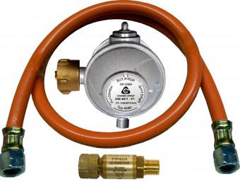 Anschlussgarnitur für Gasgeräte G 1/4LH-ÜM x G 1/4LH-ÜM