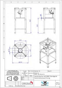 Hockerkocher HK2000E 10 KW