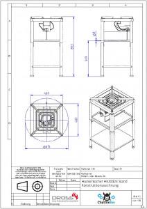 Hockerkocher HK2012E 16 KW Flüssiggas