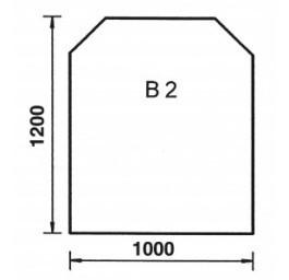 Bodenplatte Trapez B2