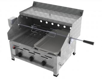 ChattenGlut Basic Gasbräter 3-flammig