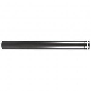 Pellet-Rohr Schwarz emailliert