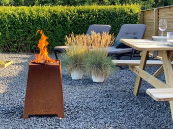 HETA Quad Outdoor Pellet Feuer