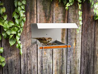 Designer Futterhaus für Wildvögel